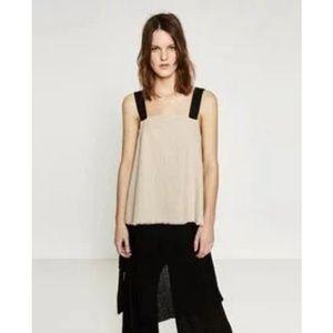 Zara | Linen Knit Top
